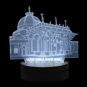 Ajmer Sharif Two Color LED Showpiece
