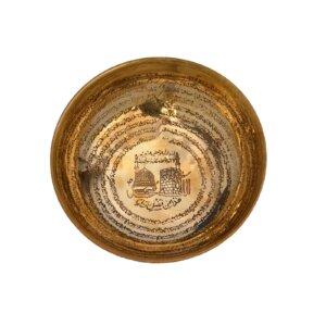 eid gift ramadan gift Mecca Medina Antique Metal Bowl