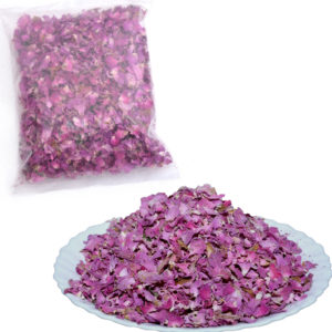 Pink Damask Rose Dried Petals