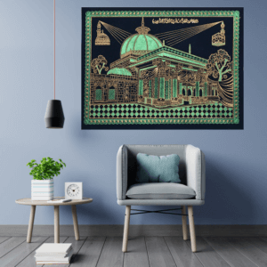 khwajadarbar green ajmer sharif wall hanging