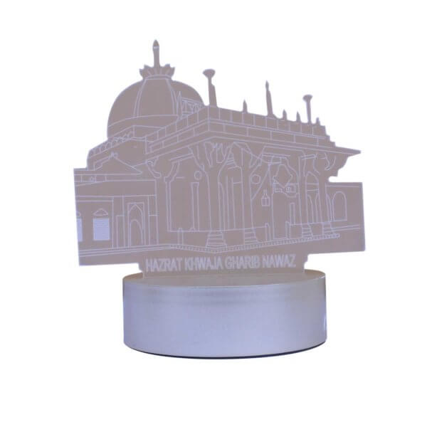 Ajmer Sharif Two Color LED Showpiece