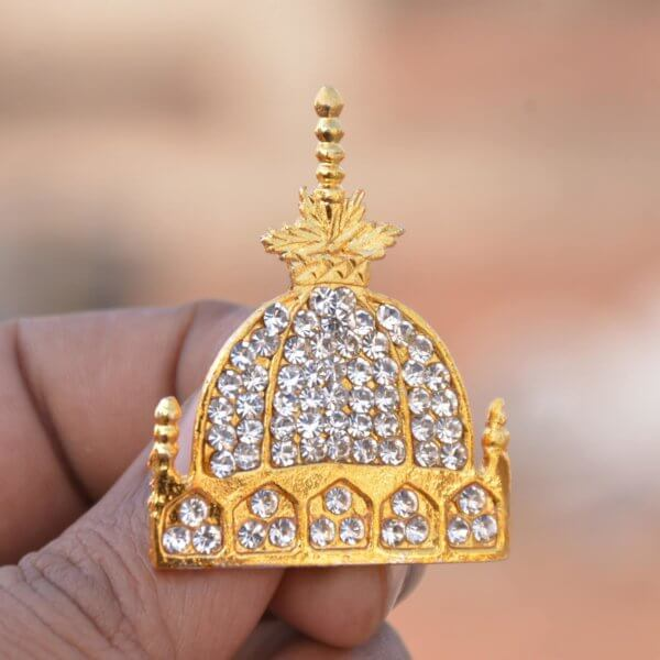 ajmer sharif islamic brooch